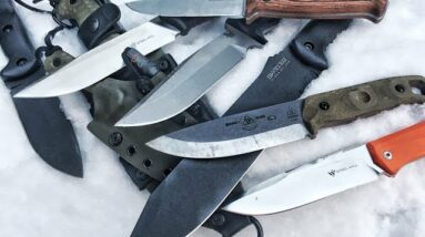 10+ New Survival & Bushcraft Knives: Solid Performers for Outdoors - ETV Approved