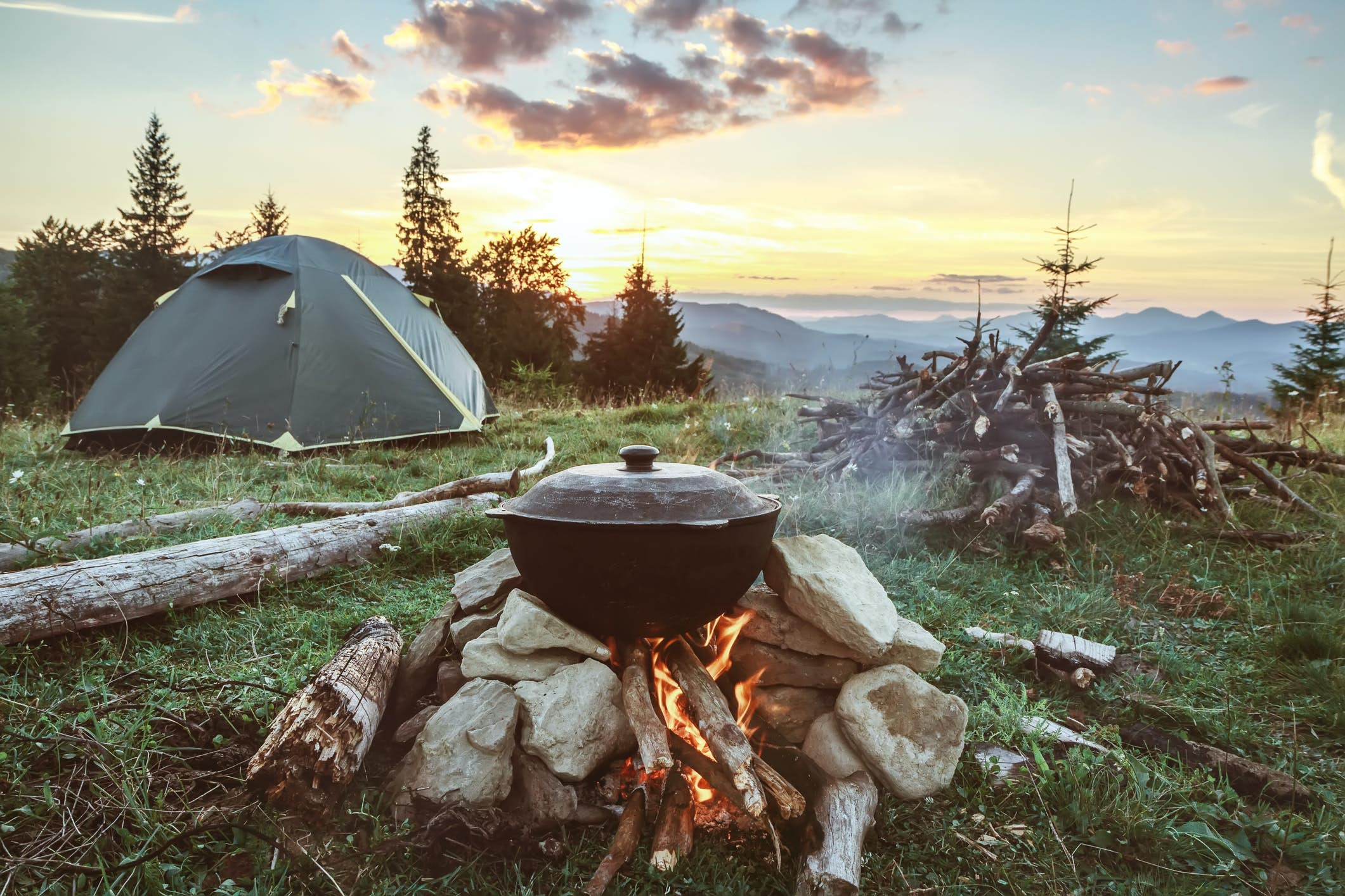 Camping in the North Cascades